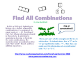 Find All Combinations