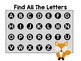Find All the Letters - Letter Recognition Game