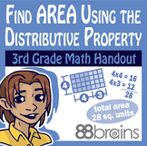 Find Area Using the Distributive Property pgs. 22 - 25 (Common Core)