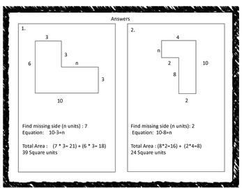 Find Area with Missing Sides