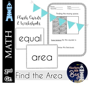 Find Area worksheets for Second Graders