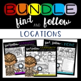 Find Articulation and Follow Directions: Locations BUNDLE