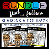 Find Articulation and Follow Directions: Seasons and Holid