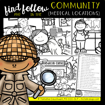 Find Articulation and Follow Directions Speech and Language: In the Community