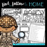 Find Articulation and Follow Directions Speech and Language: In the Home