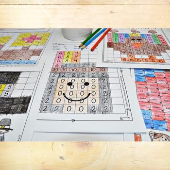 Find & Color Activities - Editable Worksheets BUNDLE