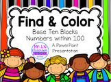 Find & Color: Base Ten Blocks Activity