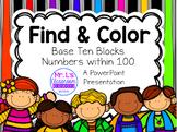 Find & Color: Base Ten Blocks Activity