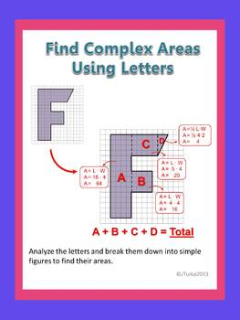 Find Complex Areas Using Letters
