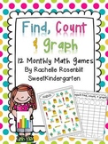 Find, Count & Graph Math Games