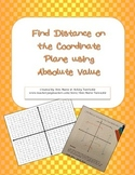 Absolute Value on the Coordinate Plane