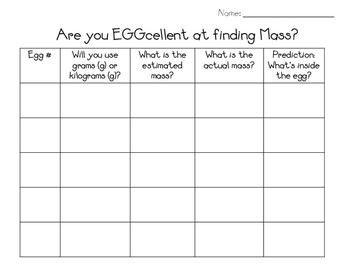 Find EGGcellent Mass Activity