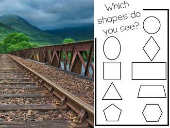 Find-'Em! 2D Shape Hunt (Shapes Around Our World)