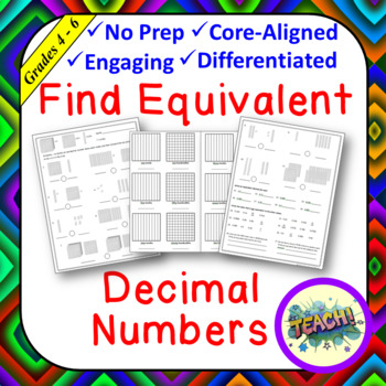 Find Equivalent Decimal Numbers