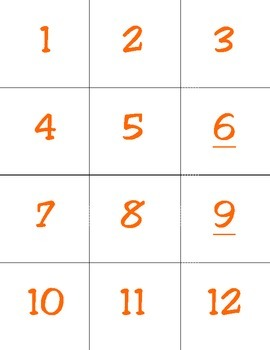 Find Factors Cards - All Numbers 0-144
