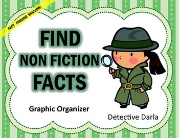 Find Facts Non-Fiction Graphic Organizer