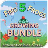 Find 5 Frogs Games GROWING Bundle - Articulation - Digital