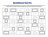 Find Five: Quadrilateral Math Game
