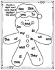 Find & Highlight Gingerbread Man