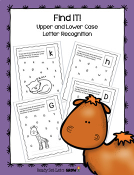 Find IT!  Upper and Lower Case Letter Recognition