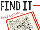 Find-It CVC Words Search