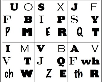 Find It!! Capital Alphabet Letters