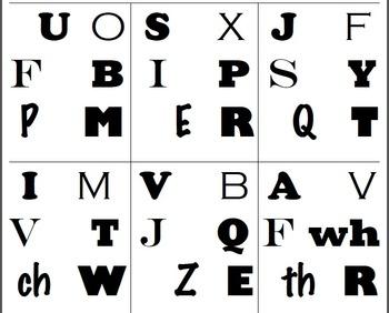 Find It!! Capital Alphabet Letters