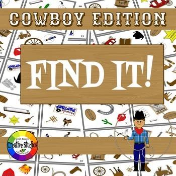 Find It! Cowboy Edition