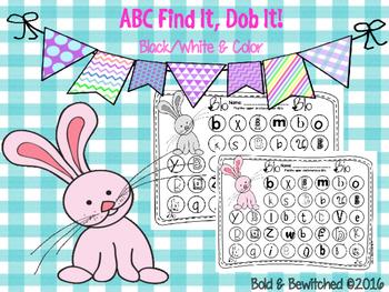 ABC Find It, Dob It Bunny!
