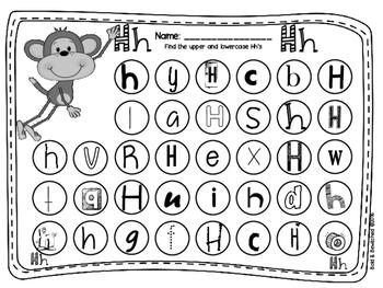 ABC Find It, Dob It Summer Monkey!