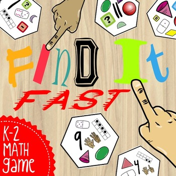 Find It Fast: Identify & Compare Numbers, Shapes and Symbols