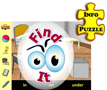 Find It (INFO PUZZLE) English Communication Activities