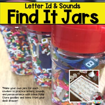 Find It Letter Jars- Letter and Sound Recognition