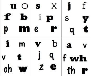 Find It!! Lower Case Alphabet