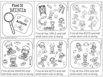 Find It Minis for Language Skills