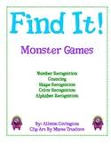 Find It! Monster Games