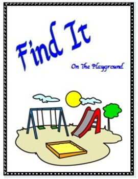 Find It:  On the Playground