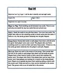 Find It! Sight Words--Kindergarten Version 2 *Word Work*