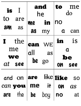 Find It! Sight Words--Kindergarten Version 2 *Word Work*
