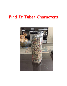 Find It Tube: Characters