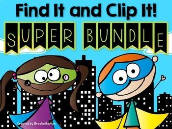 Find It and Clip It - SUPER BUNDLE
