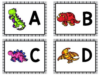 Find It and Stamp It - Dinosaur Theme