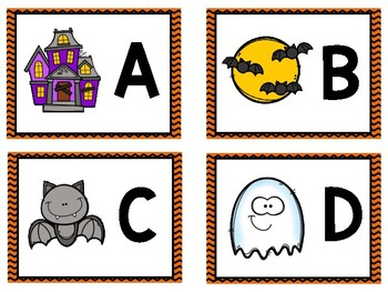 Find It and Stamp It - Halloween Theme