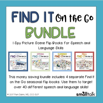 Find It on the Go for Speech and Language BUNDLE