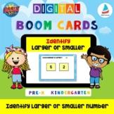 Find Larger or Smaller Number 1-10 | Pre-k Kindergarten Ma