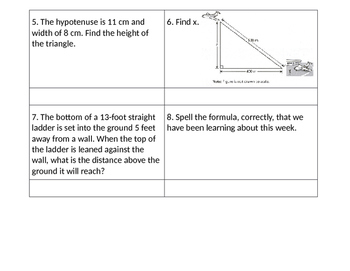 Find Legs Word Problems Task Cards