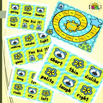 Find Me! Antonym Spot It Game