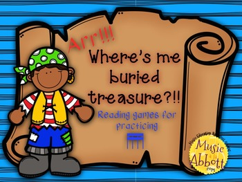 Find Me Buried Treasure: Two Games for Practicing tika-tika in the Music Room
