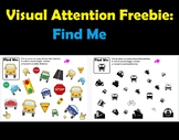 Find Me Freebie for Building Visual Attention Skills