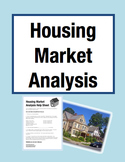 Find Me a Home! Housing Market Analysis Math Project (Grades 3-5)